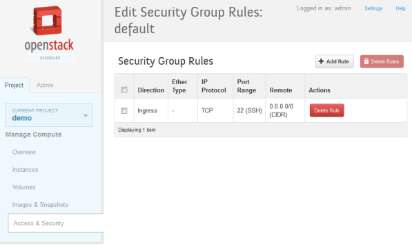 openstack-security-group-rules